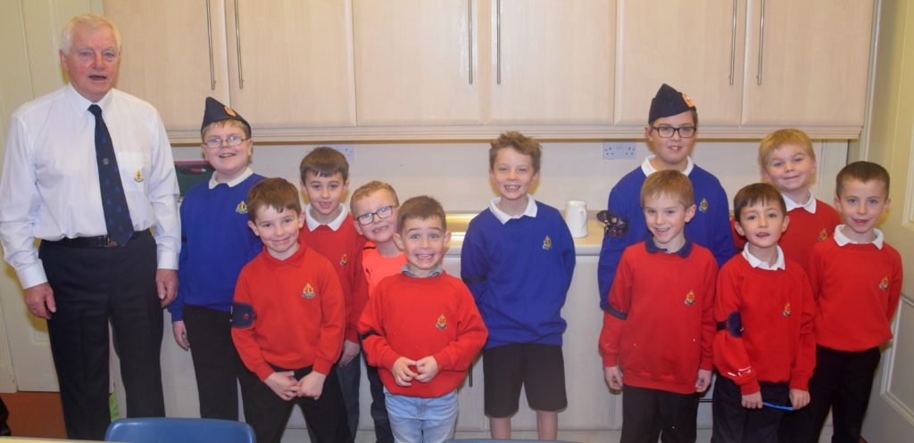 Boys' Brigade drilled on serving mince pies