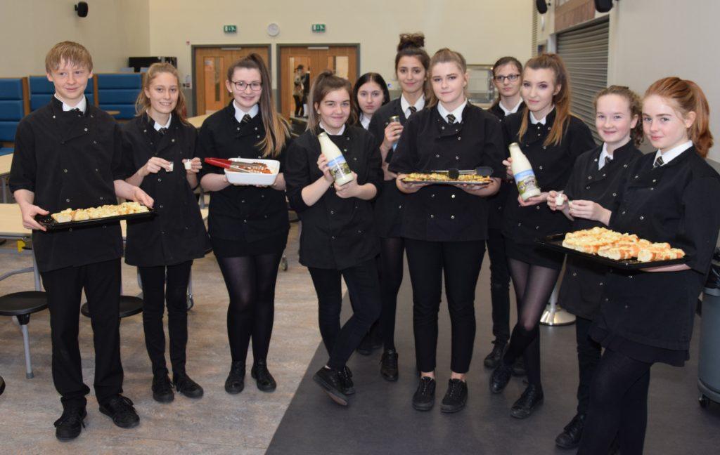 Pupils pay tribute to Scotland's patron saint