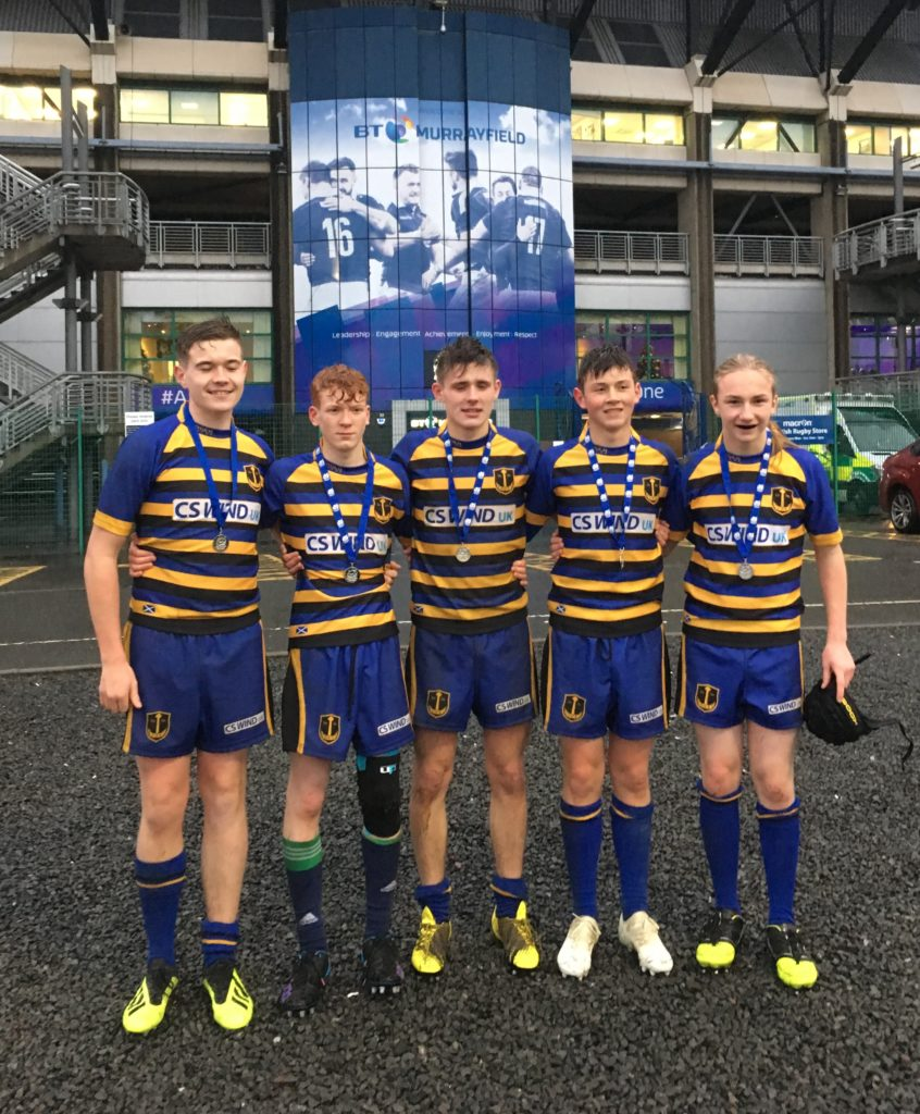 Campbeltown's top rugby talent at Murrayfield