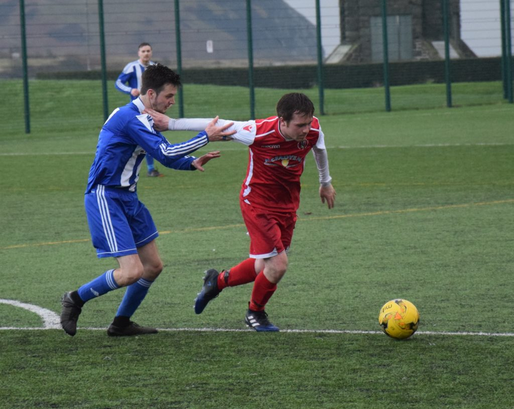 Honours even in Argyll derby