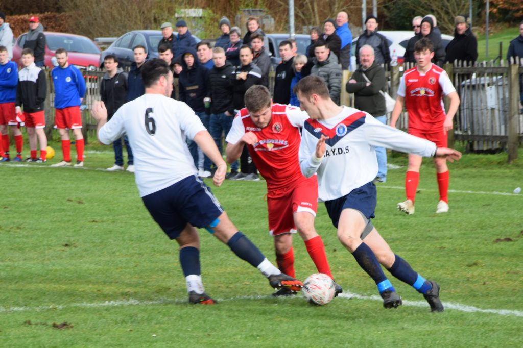Argyll teams share the spoils in exciting derby draw