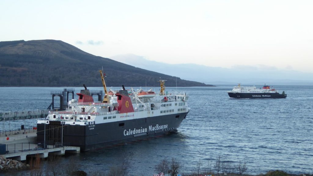 CalMac's business conference cruise