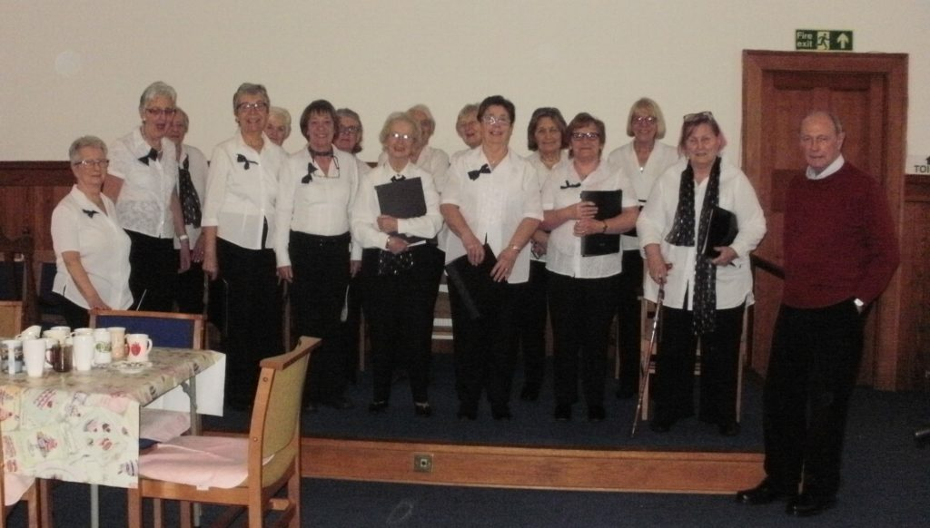 Two Burns concerts for U3A choir