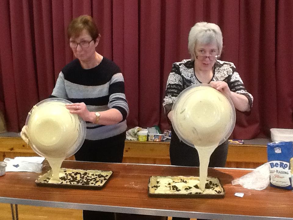 The SWI's four Kintyre corners craft day