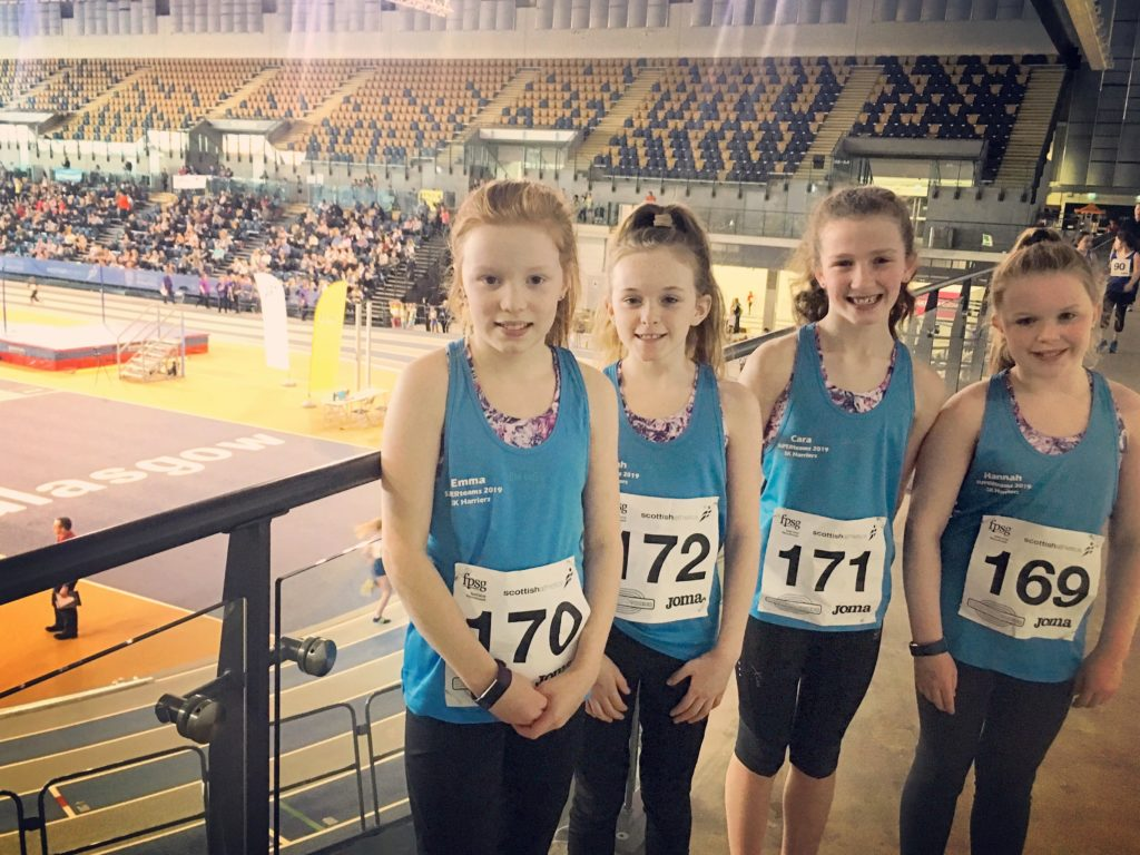 Campbeltown athletes race in Glasgow