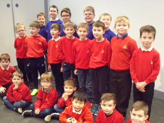 Boys Brigade devour dragon training