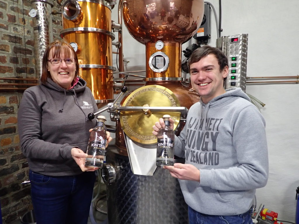 Kintyre gin giants just pipped in Scottish survey