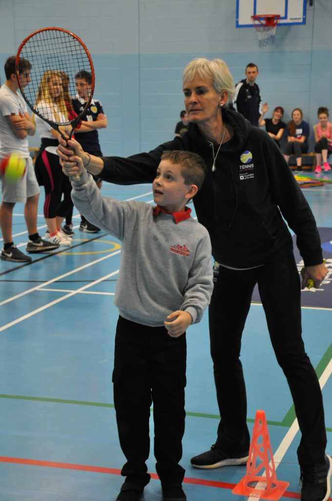 A smashing £15 million boost for rural tennis