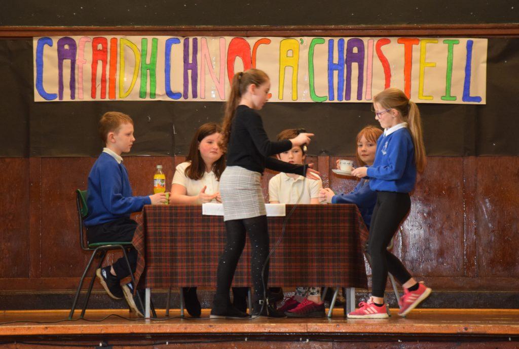 Pupils impress with their Gaelic skills