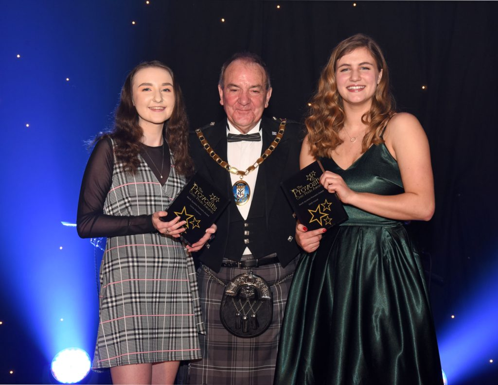 Arran girl gains Provost's prize