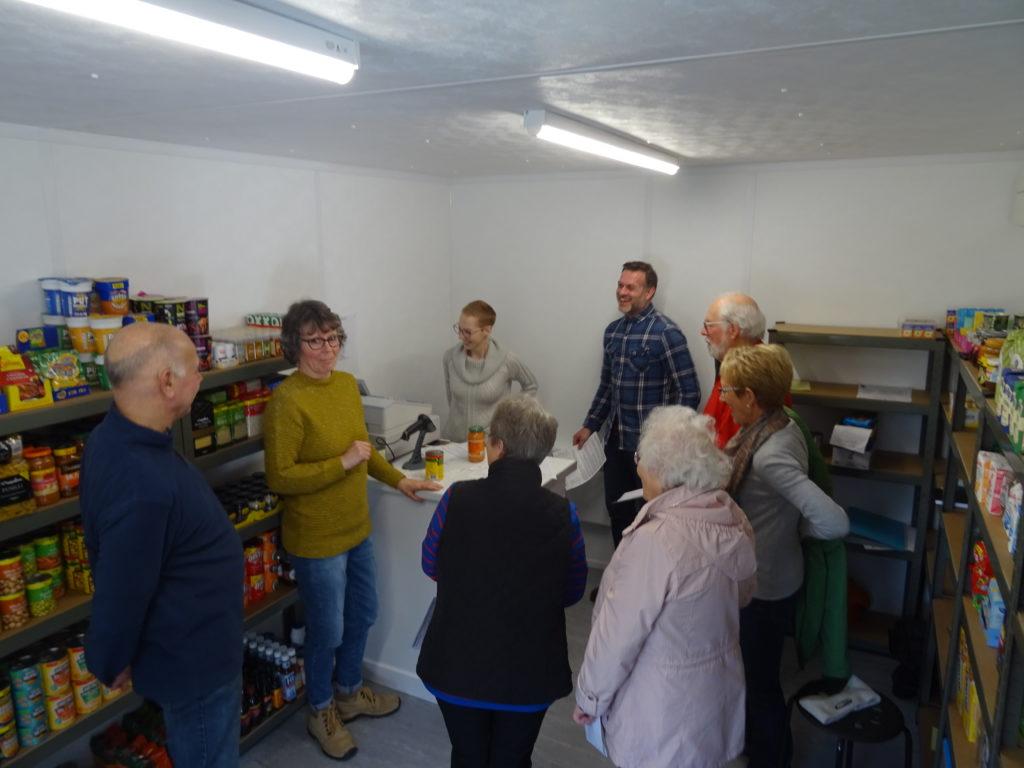 Community shop stocks life's essentials