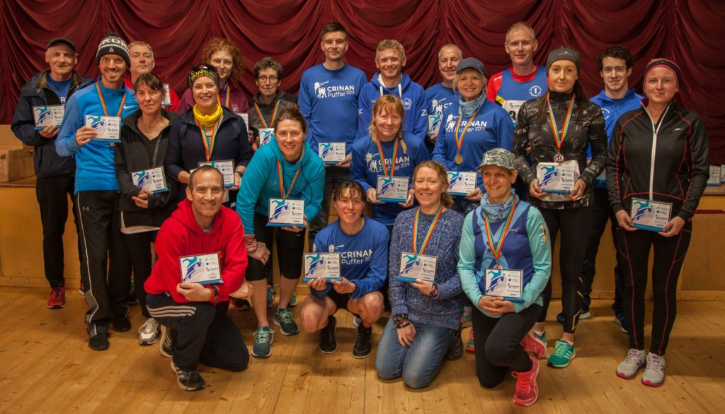 Sure-footed Sharkey is the Crinan towpath winner