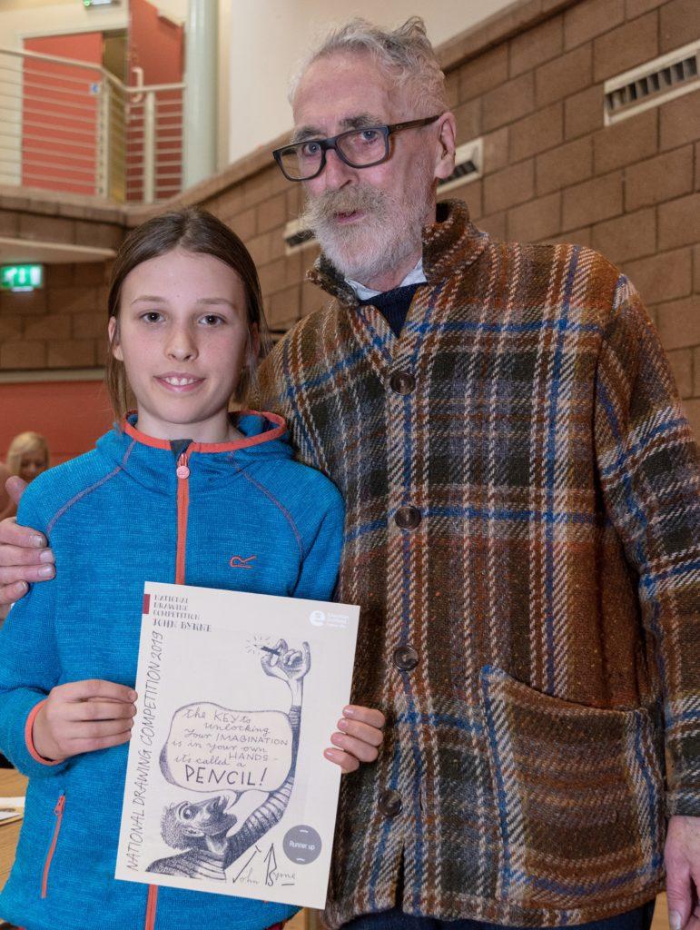 Tarbert artist drew a national prizewinner