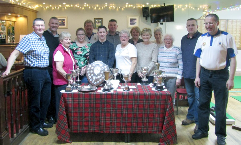 Indoor season's end at Campbeltown Bowling Club