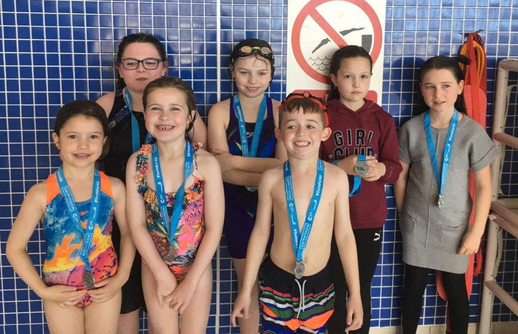 Swimathon swimmers pounded the pool for cash