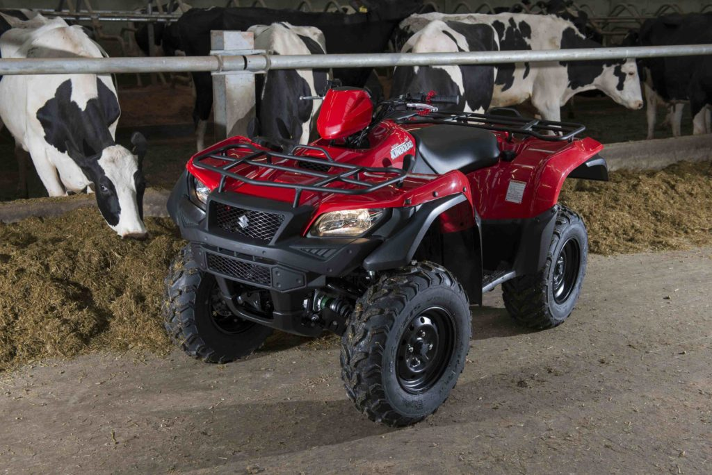 Organized criminals steal Kintyre quad bikes