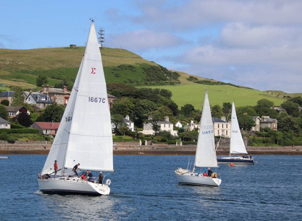 Sigmania skipper sails away with first place