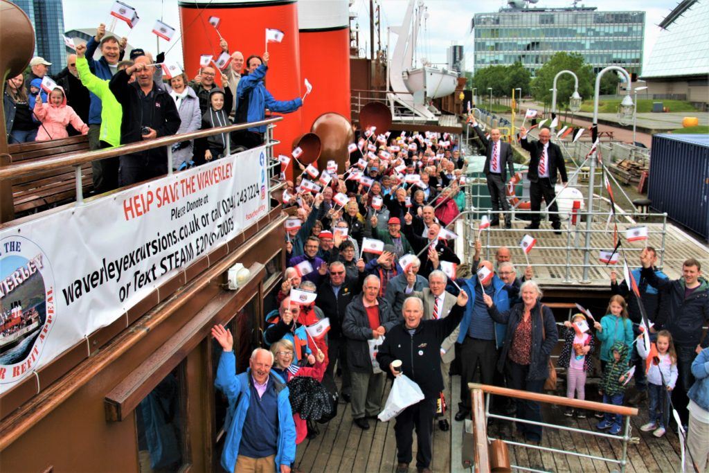Waverley appeal builds up a head of steam