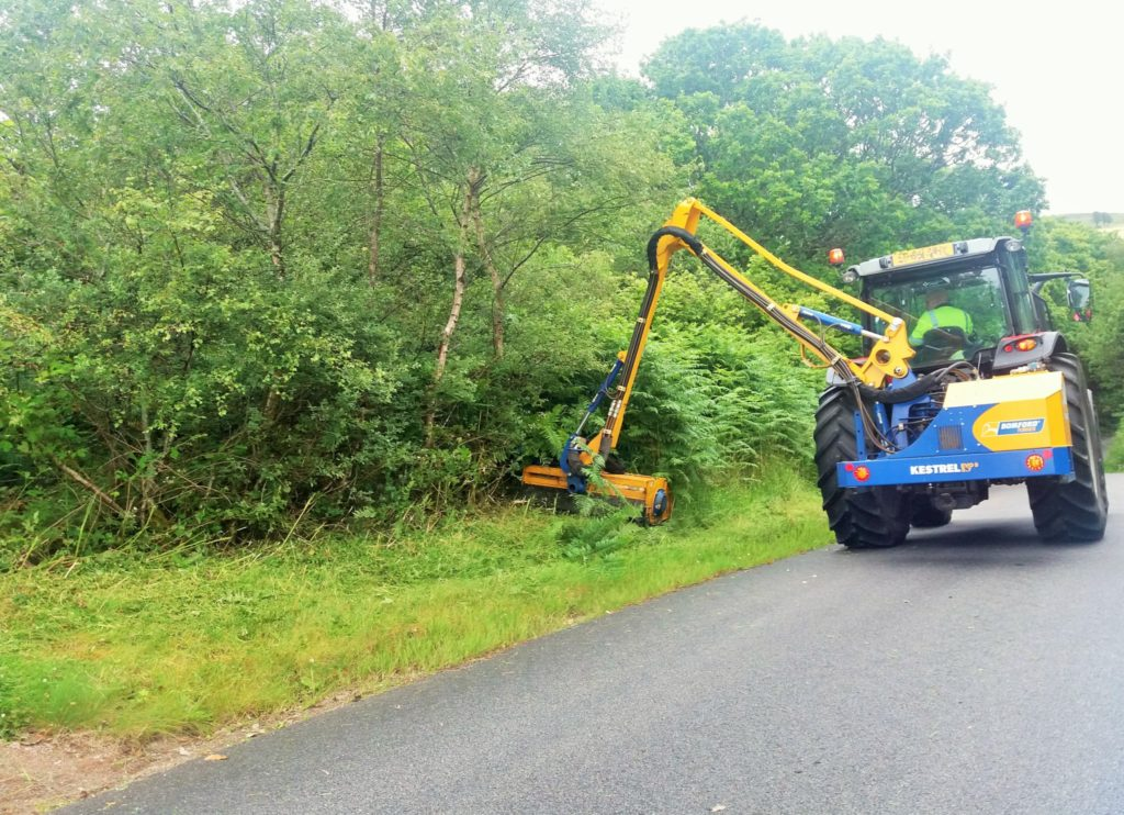 Letter: Grass cutting in Carradale