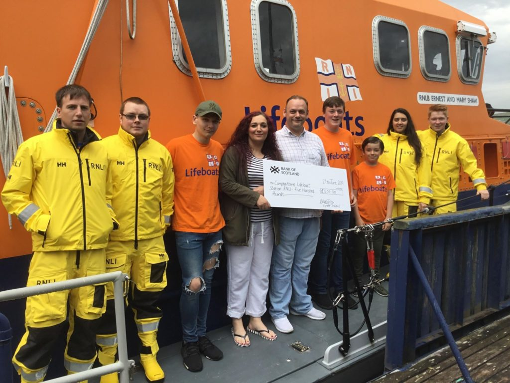 RNLI's funds boosted by mum's donation