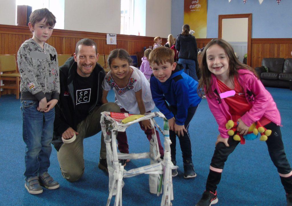 Building big at Free Church fun week