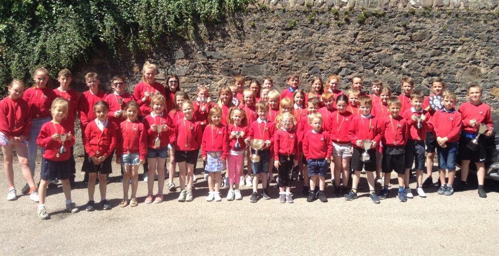 Dalintober's prize-winning pupils