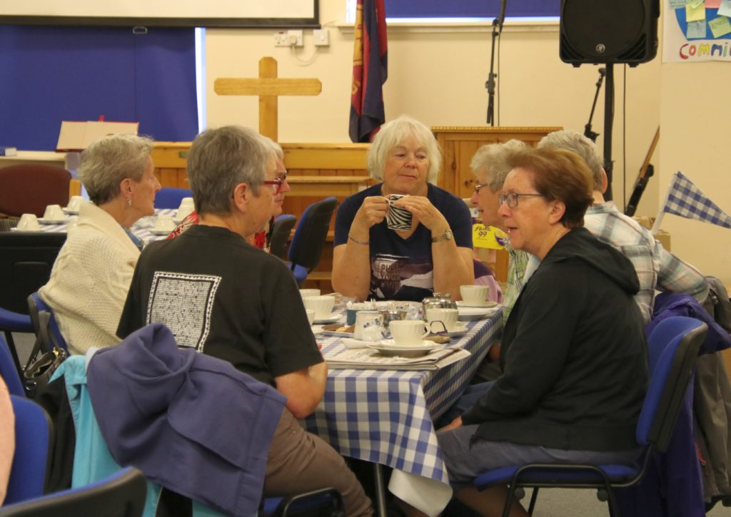 Visitors turn out for Salvation Army fundraiser