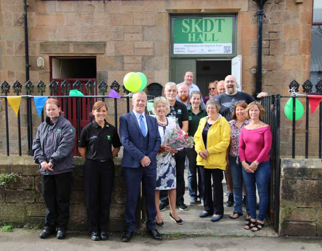Sun shines as SKDT Hall is officially opened