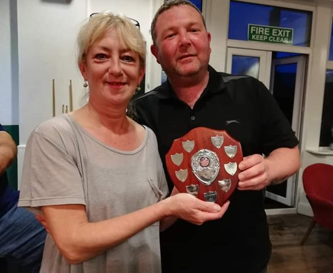 Darts winners donate prizes