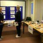 Gina McMurchy, left, and Helen Fairbairn, Campbeltown midwives, learning all about TEC.