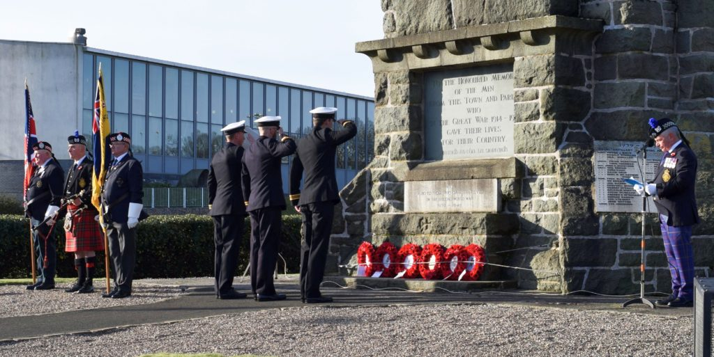 Kintyre remembers those who shall not grow old