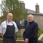 Steve Reid, left, and Maurice Whelan have been running Carradales guest house for more than a year.