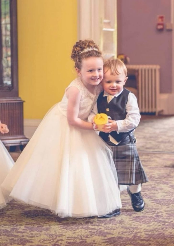 Caring five-year-old goes the extra distance to help wee brother